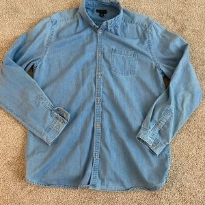 Urban Outfitters CPO Jean Shirt Long Sleeve
